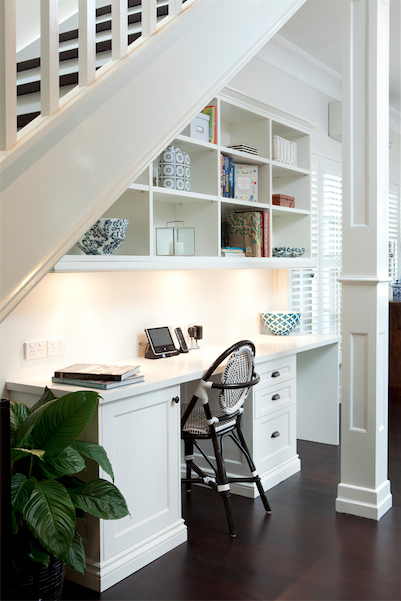 Basement Study Room: That Space Under The Stairs