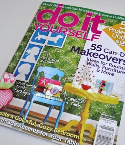 diy magazine cover