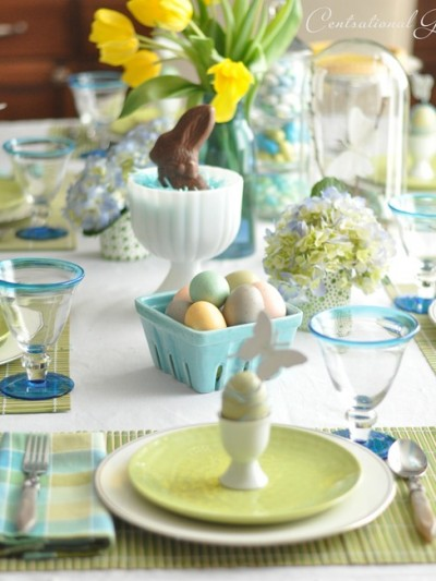 easter table cg