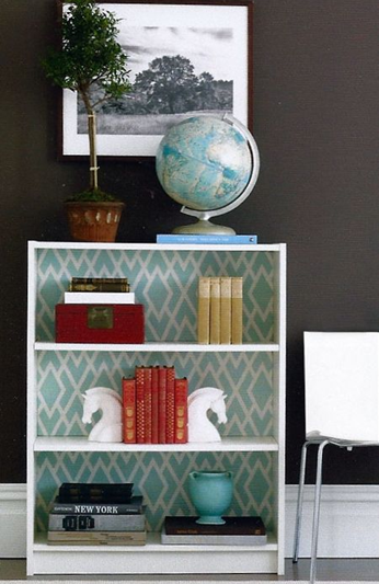 eddie ross billy bookcase styling for womans day