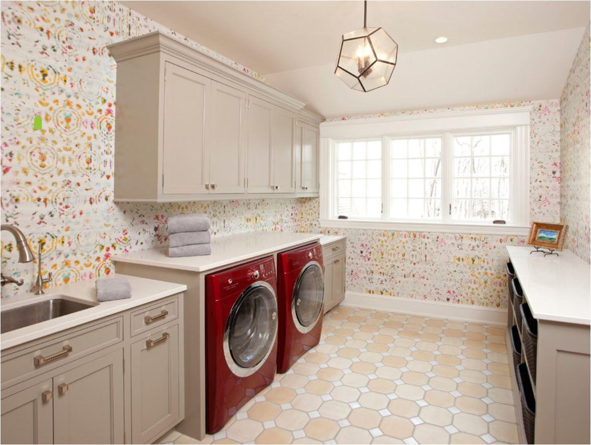 Eskuche Wallpaper Laundry Room