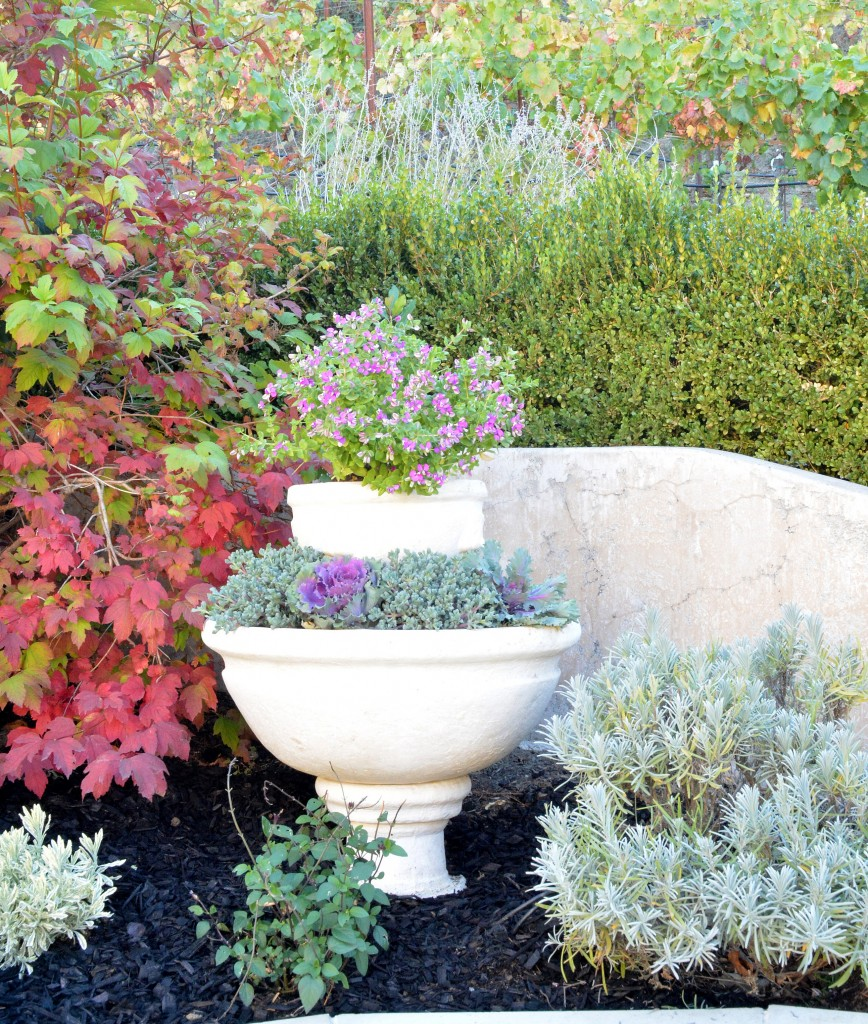 fountain planter