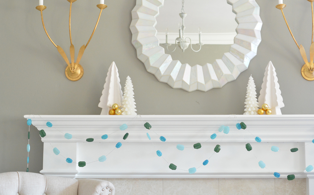 gemstone garland for slider