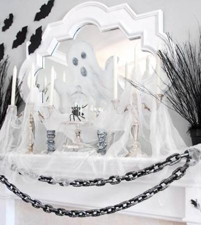ghostly mantel