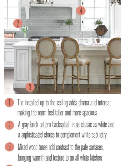 gray and white kitchen takeaway tuesday