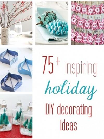 holiday diy decorating ideas