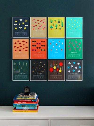 indigo bunting calendar