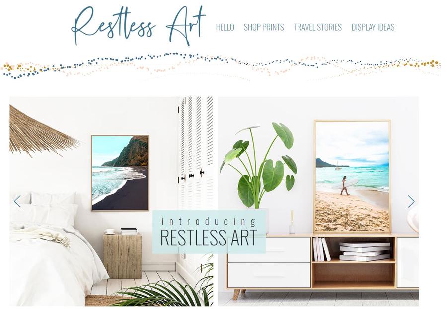 introducing restless art
