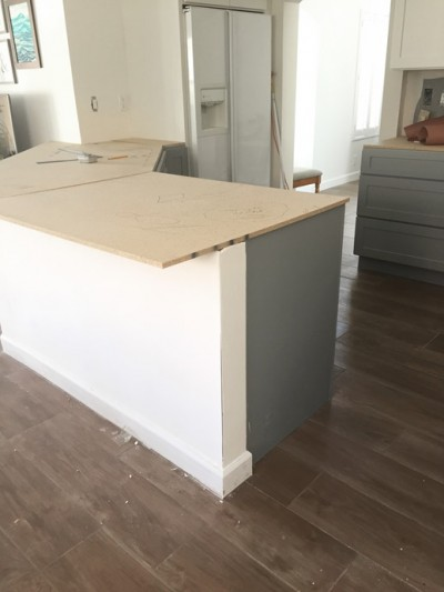 kitchen counter template