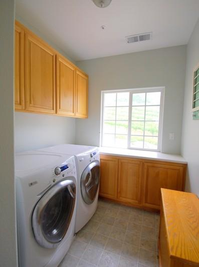 laundry room before left side