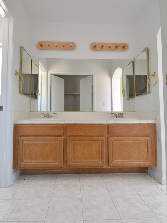 Master Bathroom Vanity Makeover Plans Centsational Style