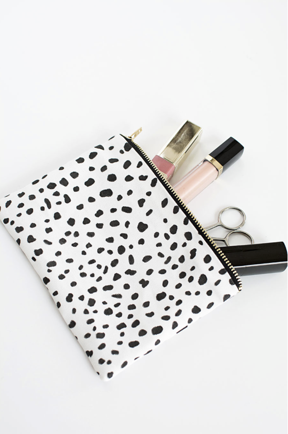 no sew zipper pouch