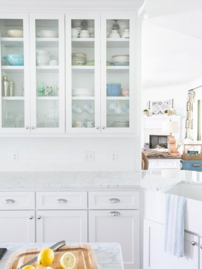 perfectly imperfect kitchen makeover