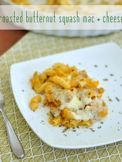 roasted butternut squash mac and cheese