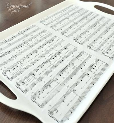 sheet music tray