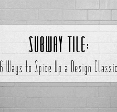 spice up subway tile