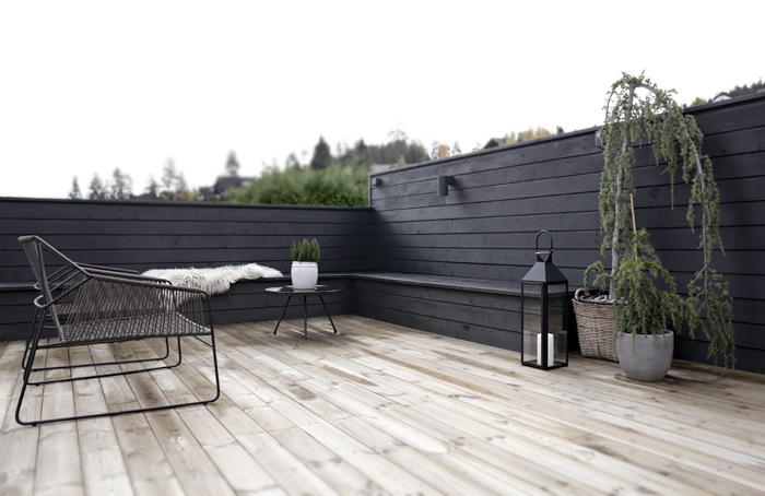 stylizmo black fencing bench