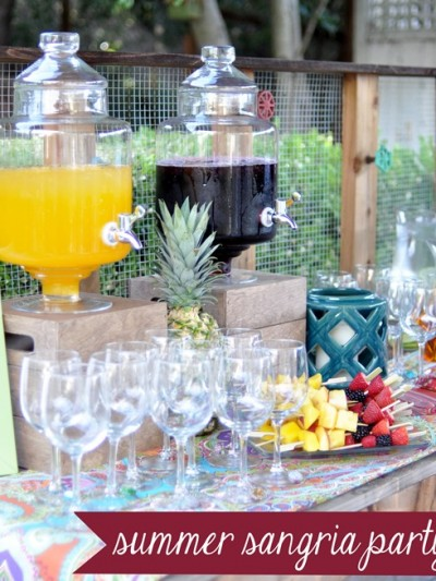 summer sangria party