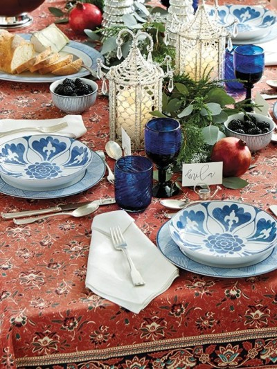 tablescapes by bloggers