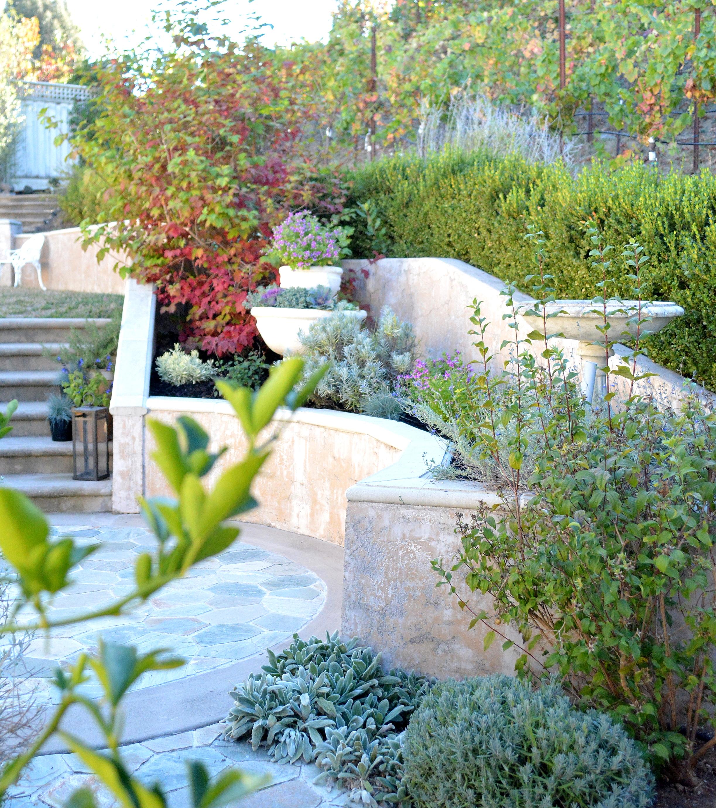Terraced Backyard Steps : Prettier Planting Bed  Centsational Girl  Bloglovin?