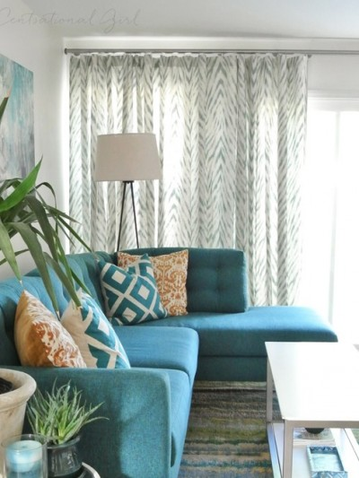 wave drapery window treatment