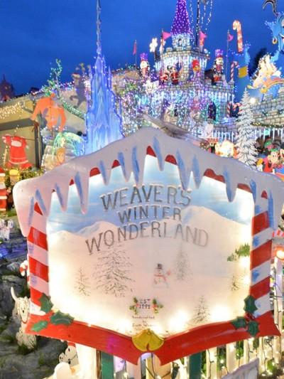 weavers winter wonderland sign