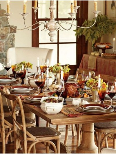 williams sonoma thanksgiving table