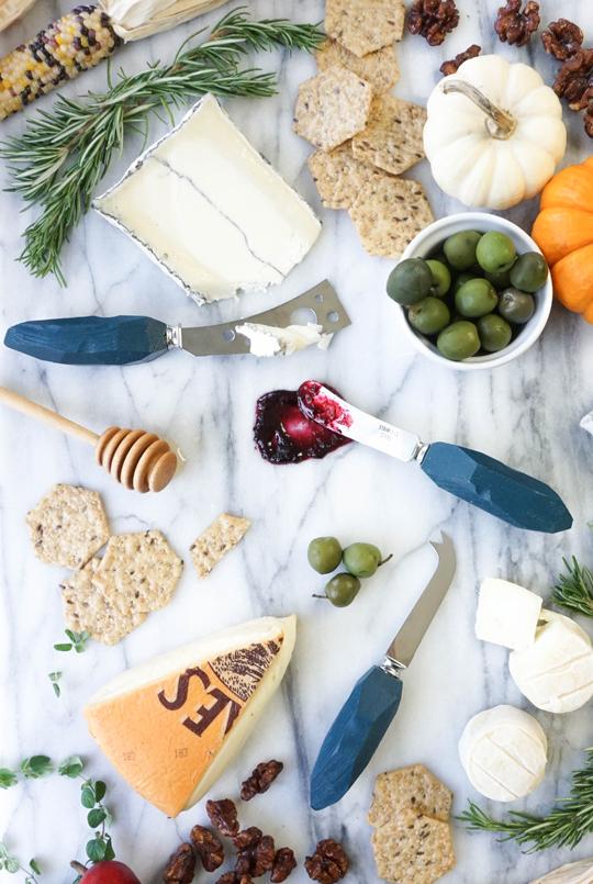 diy cheese knives