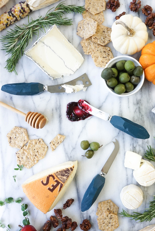 diy cheese knives