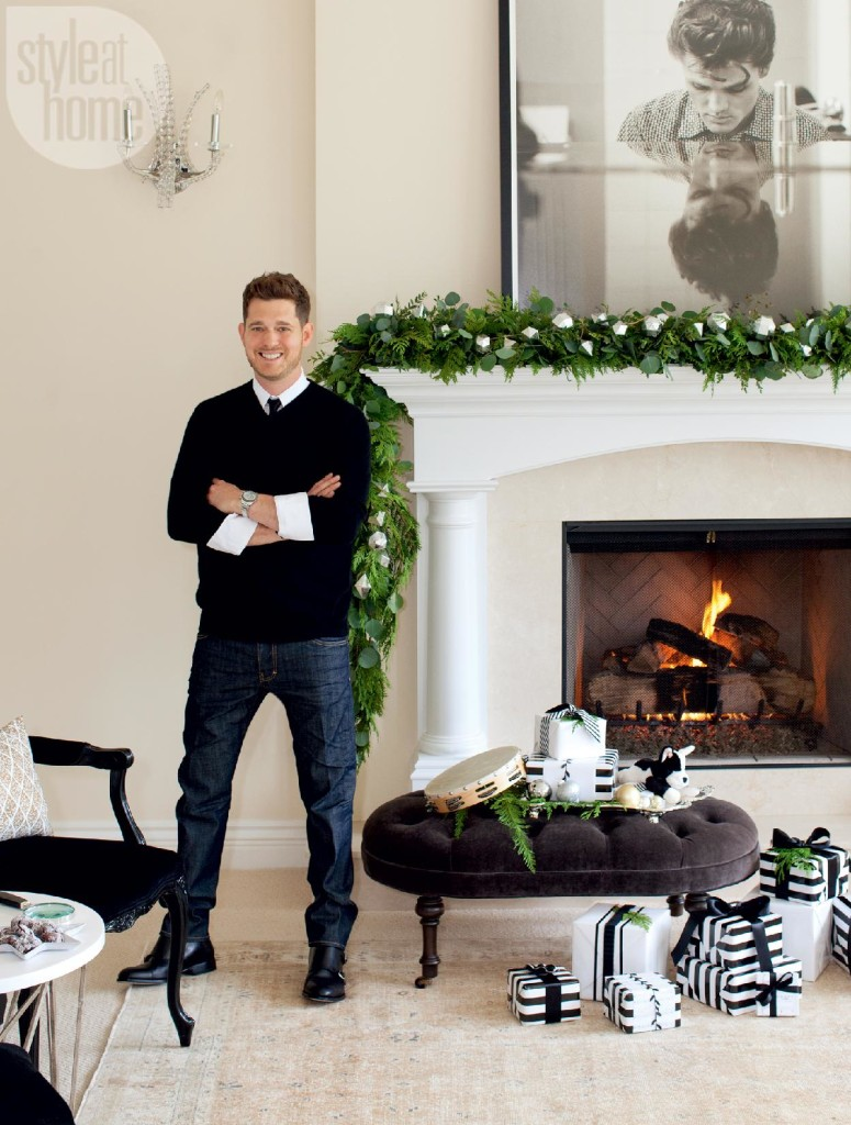 michael buble mantel