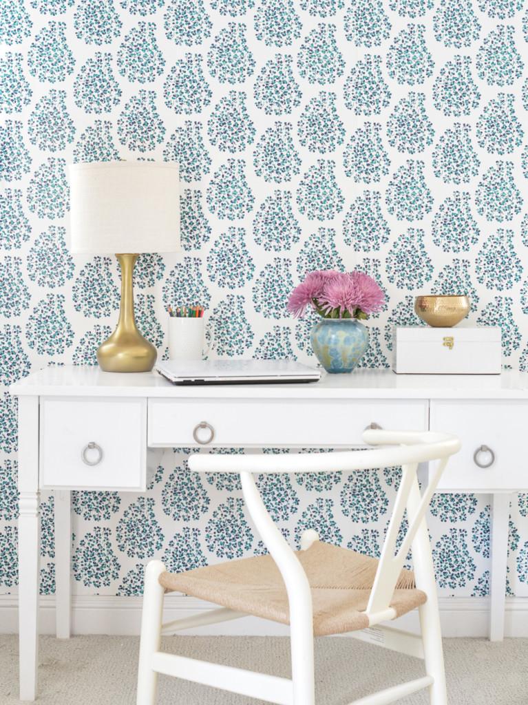 teal-paisley-wallpaper
