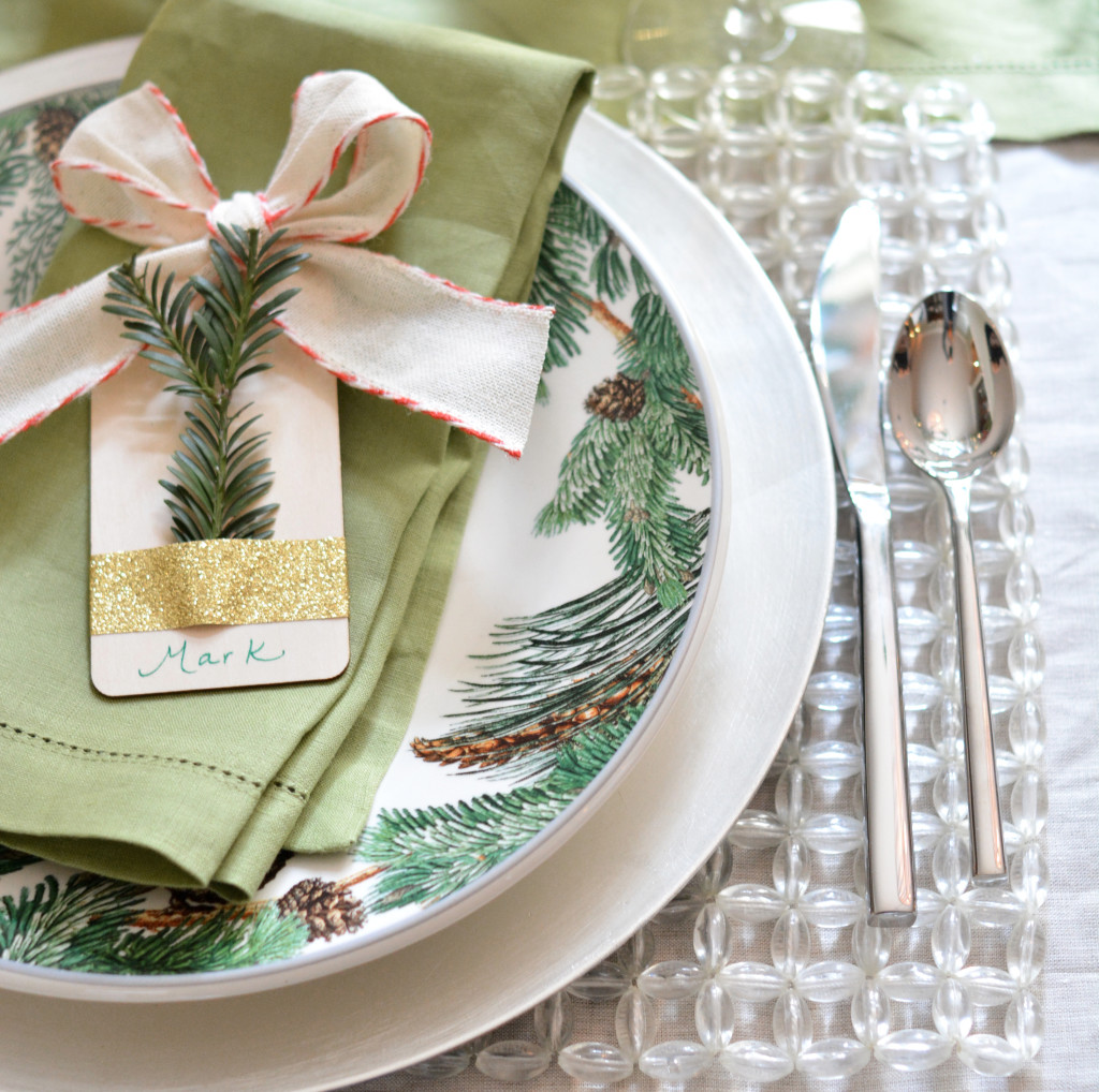 beaded placemat diy tag