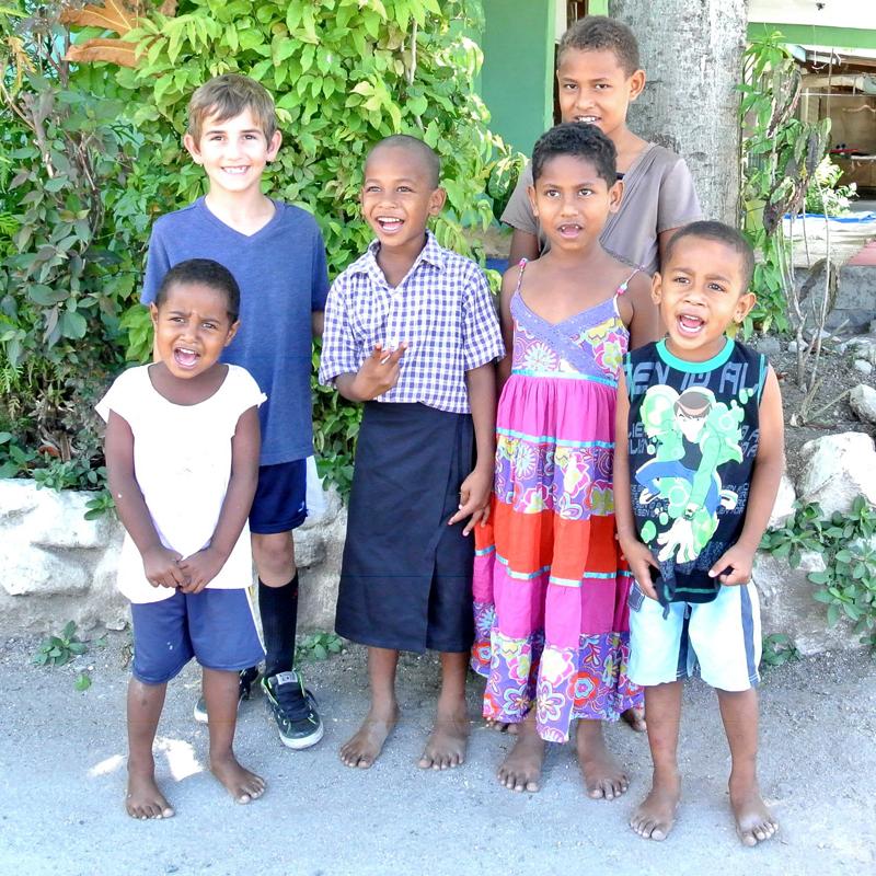 fijian kids