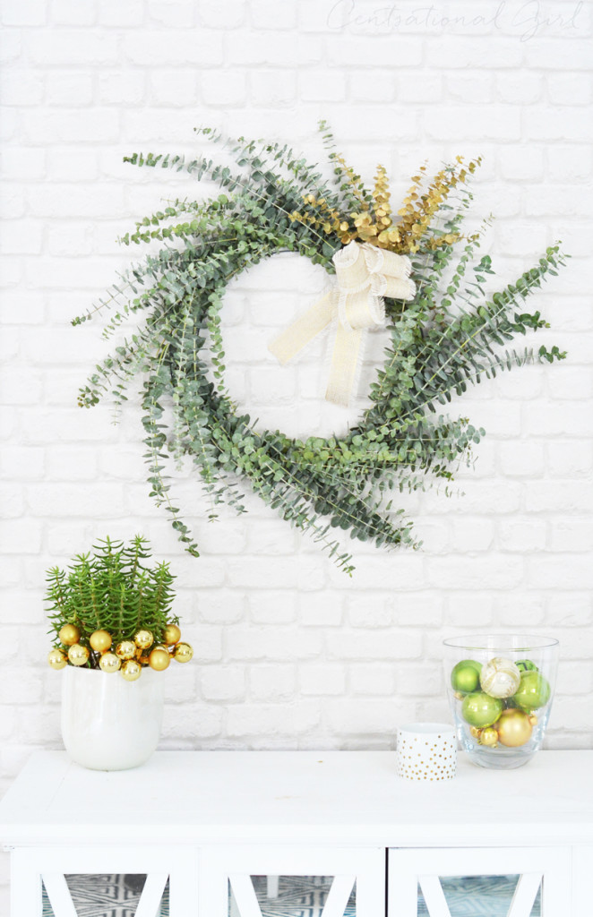 simple eucalyptus wreath
