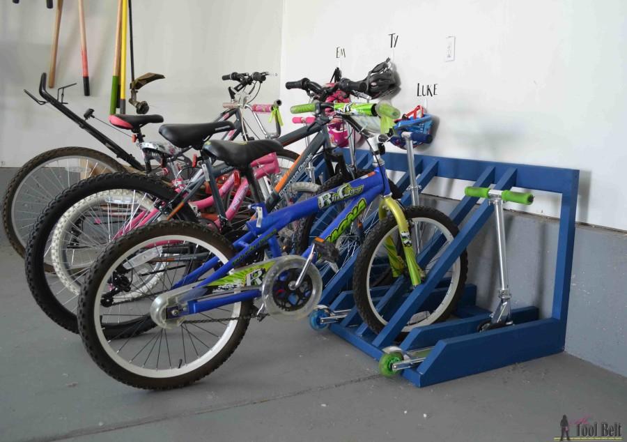 bike scooter rack
