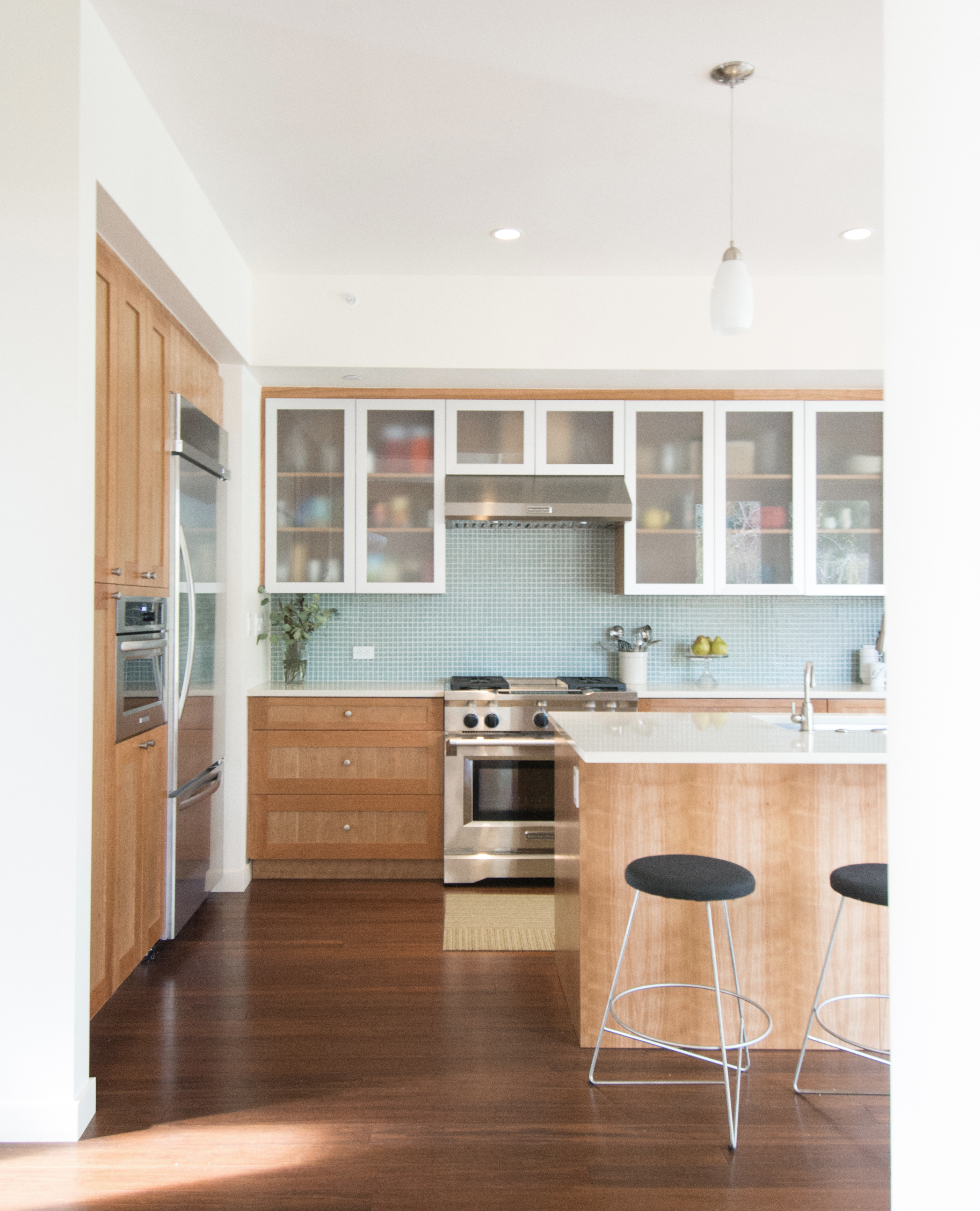Centsational Style: Wood Kitchen Cabinets, Revisited