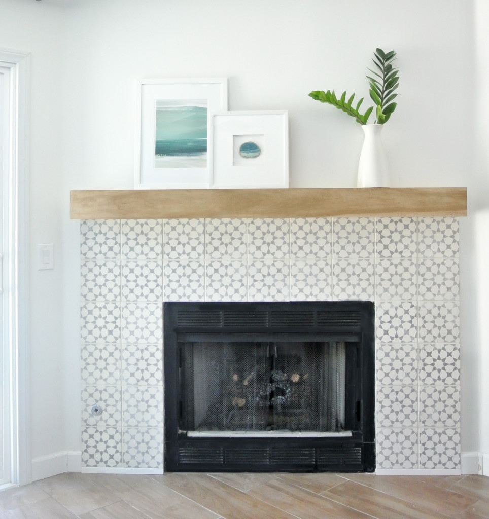 diy fireplace makeover centsational