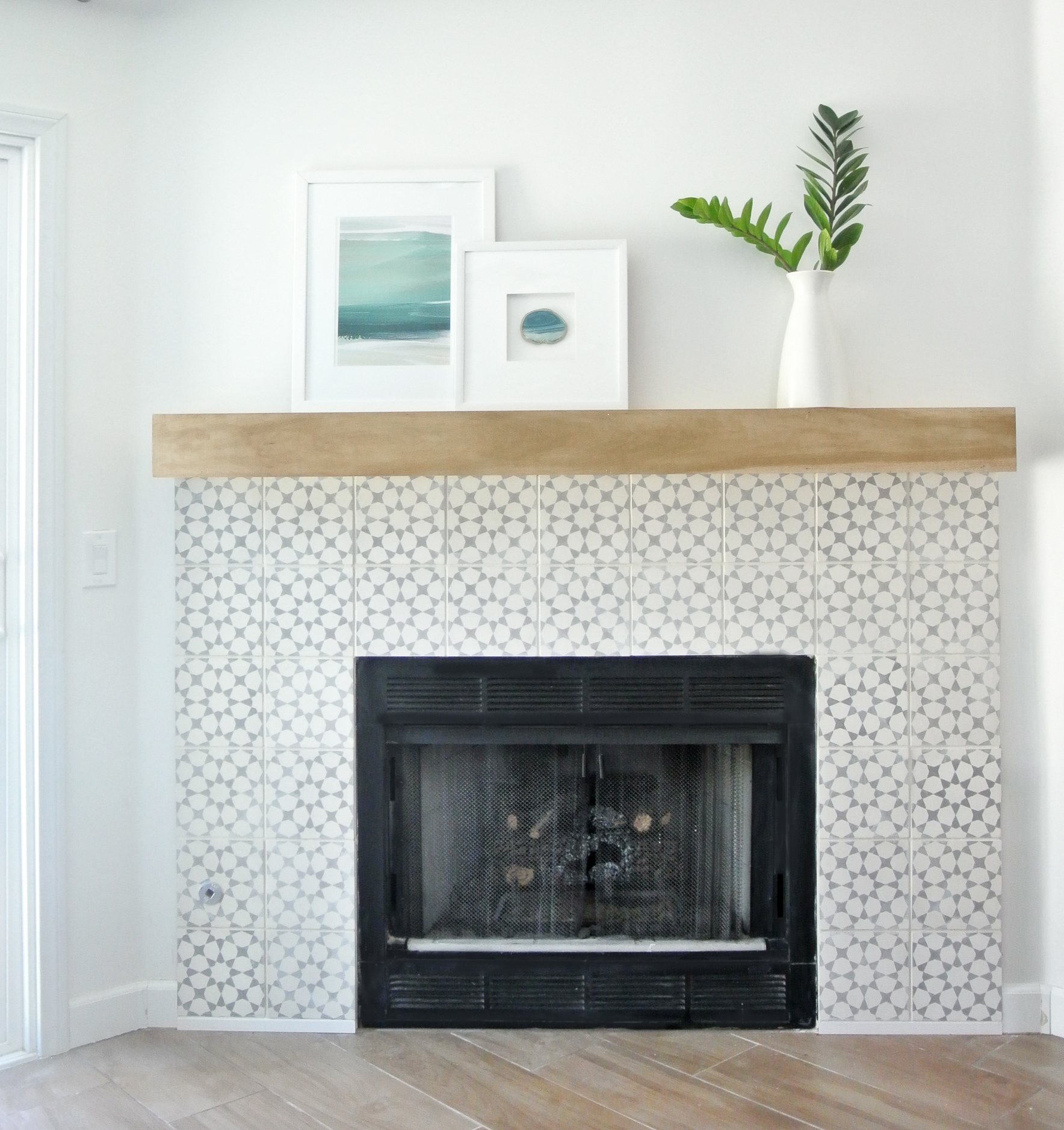 DIY Fireplace Makeover Centsational Style