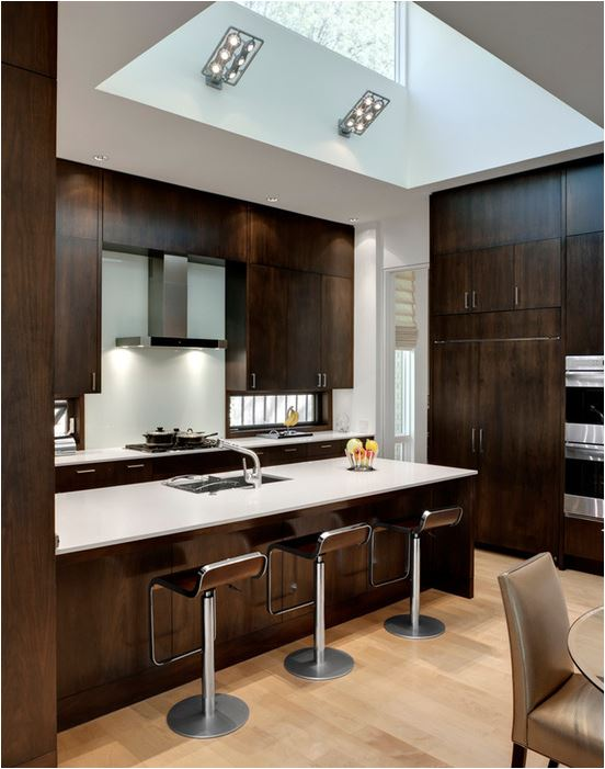 Wood kitchen cabinets revisited centsational girl for Contemporary oak kitchen cabinets