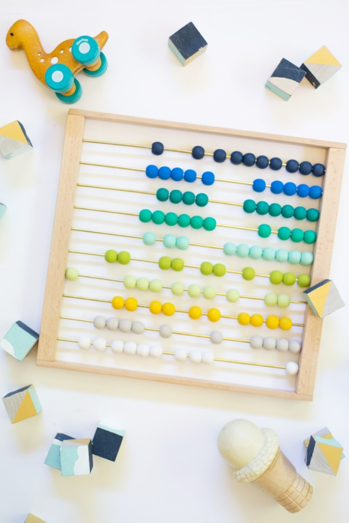 diy ombre abacus