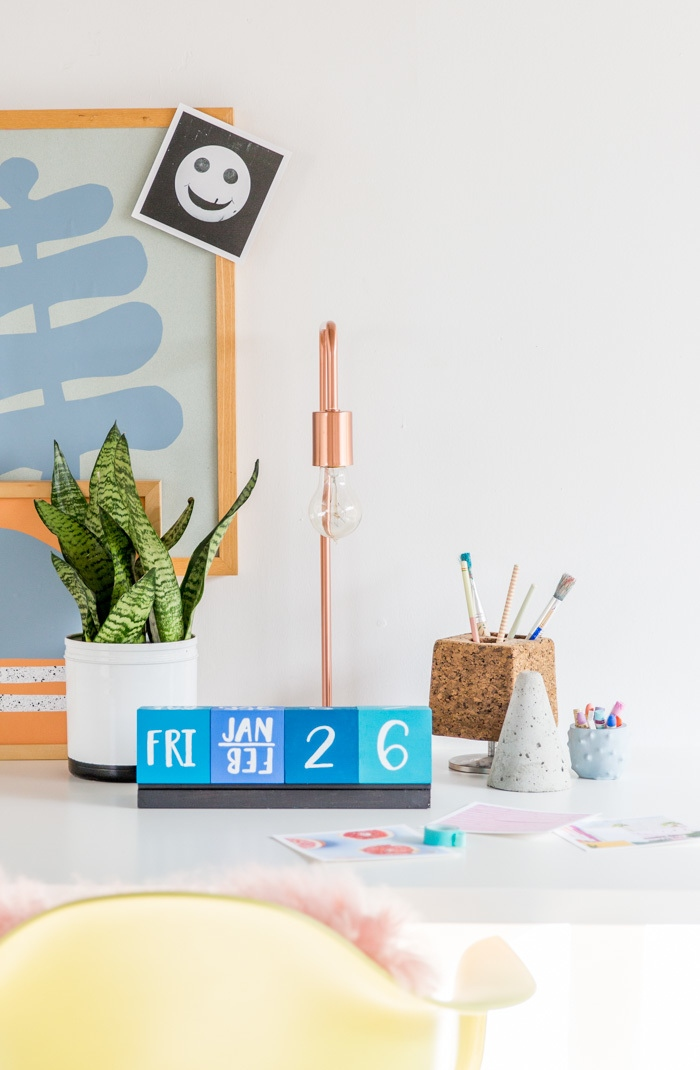 Calendar Blocks Diy : Botb  centsational style