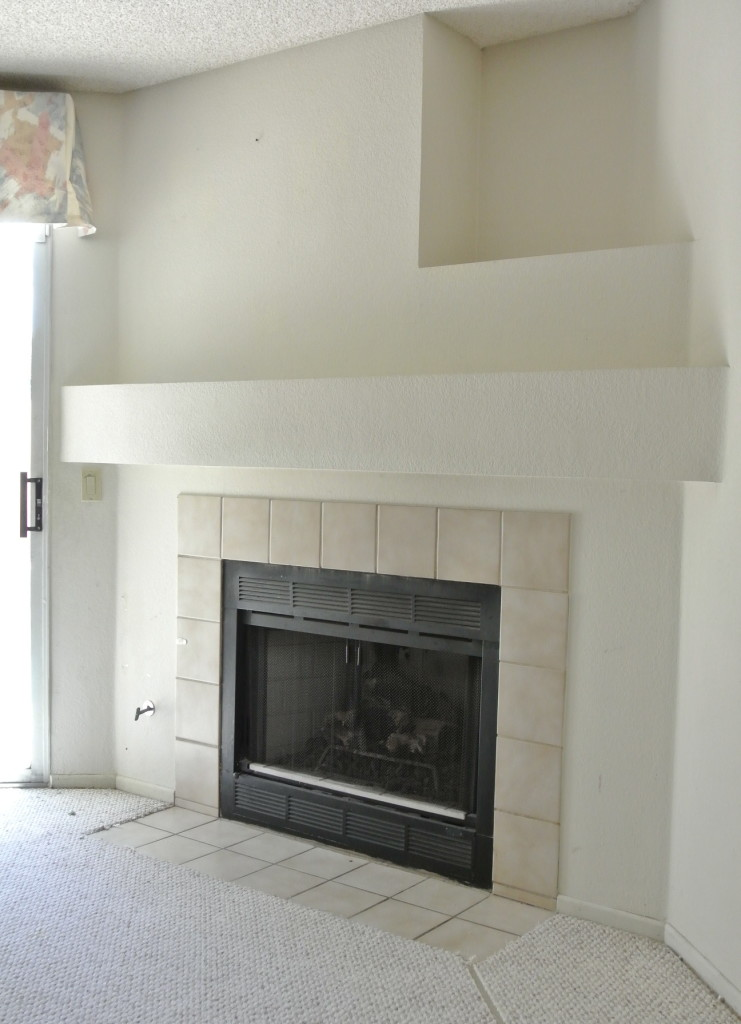 DIY Fireplace Makeover | Centsational Girl