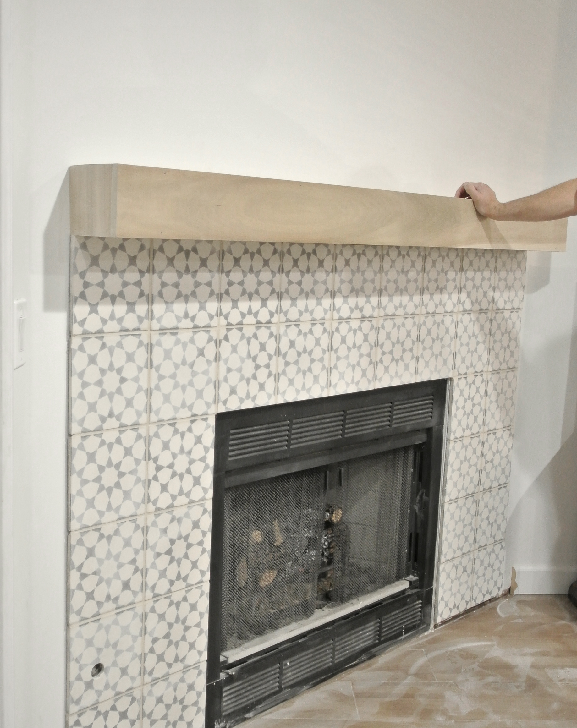 diy fireplace makeover centsational bloglovin u0027