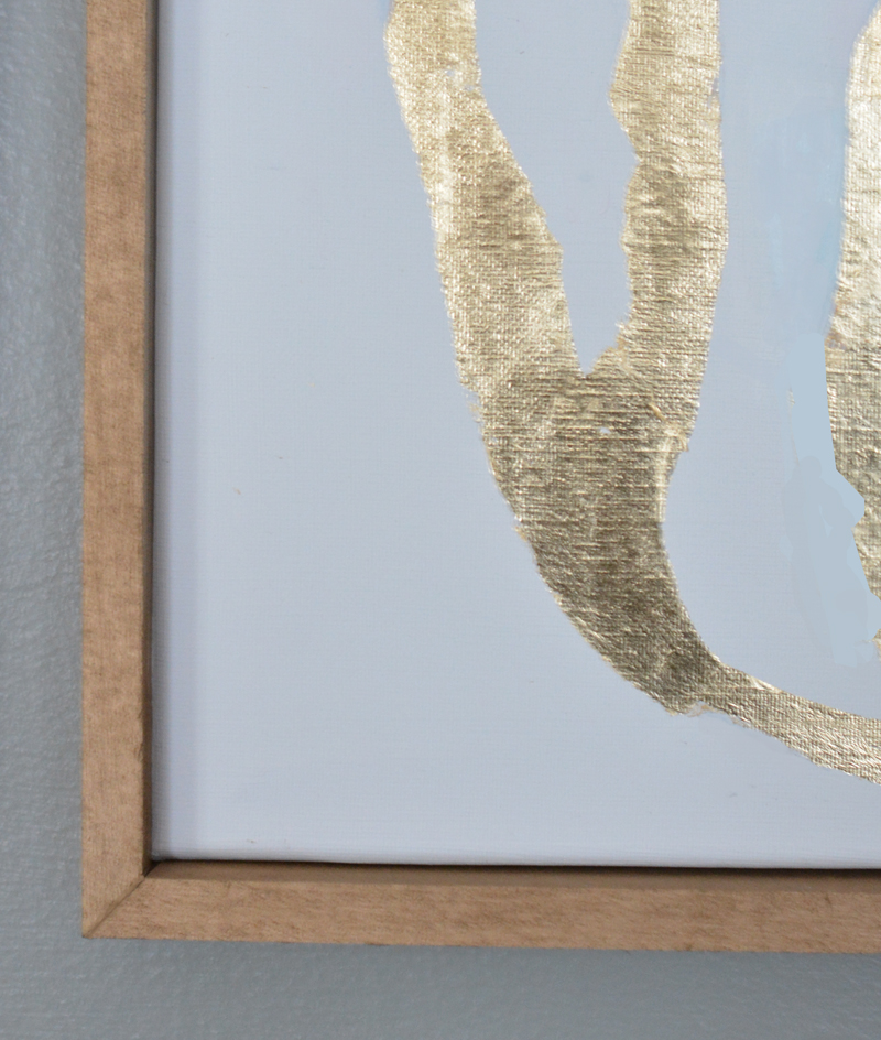 gold leaf art frame