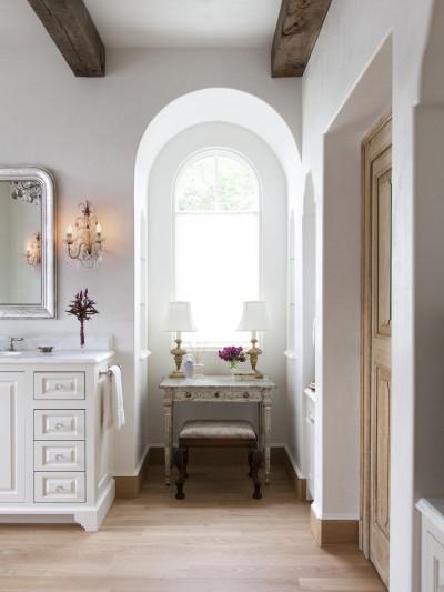 niche arched vanity