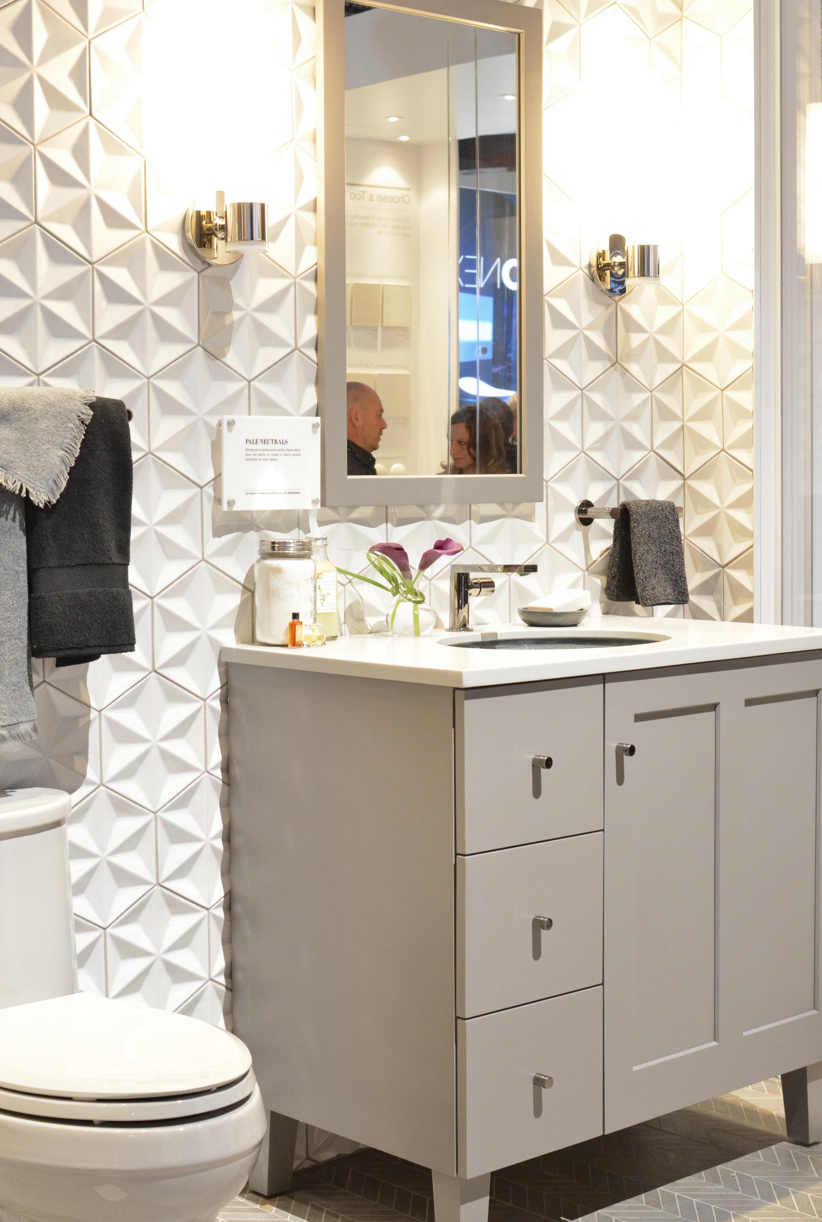 Kitchen bath trends 2016 centsational girl for Current bathroom tile trends 2016