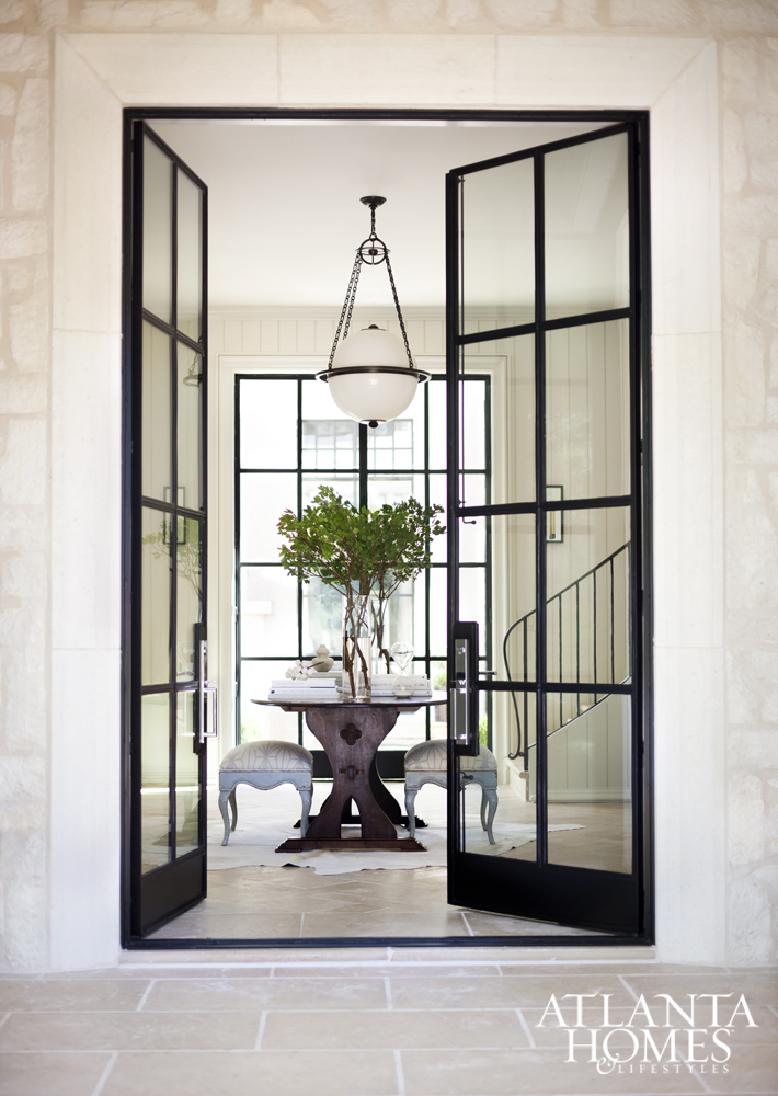 Black Door Glass : Design crush black windows glass doors centsational style