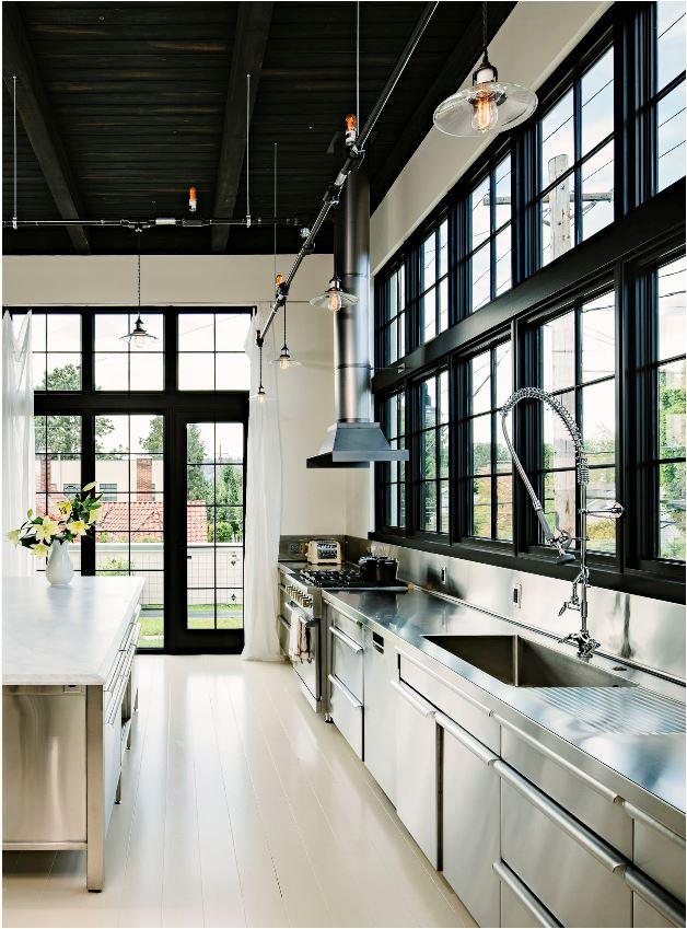 design crush black windows glass doors centsational girl. Black Bedroom Furniture Sets. Home Design Ideas