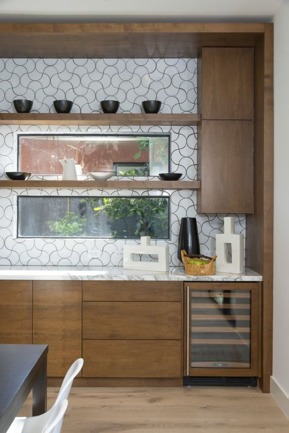 modern backsplash fireclay tile