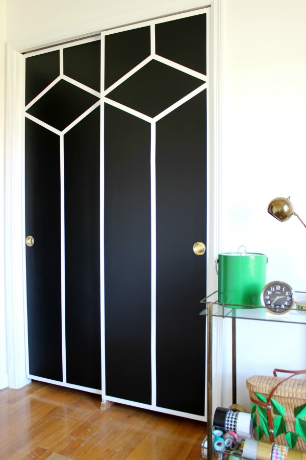 painted sliding doors